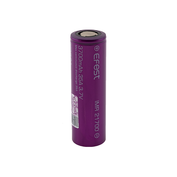 Efest IMR 21700 3700 mAh Purple