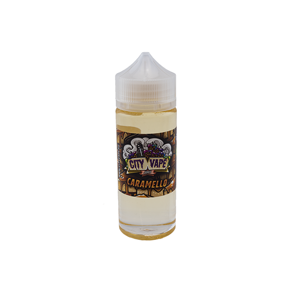 City Vape Juice Caramello