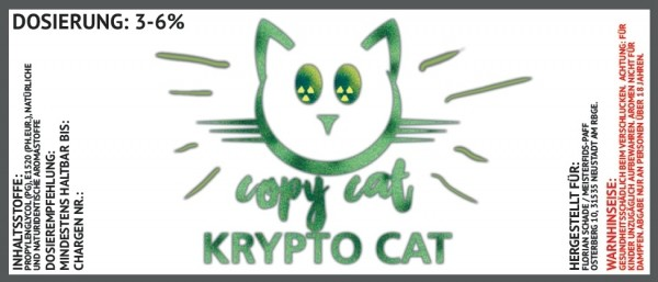 Copy Cat Aroma Krypto Cat 10ml