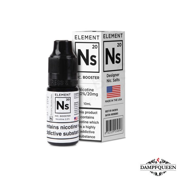 Element Vape Nikotinsalzshot Ns20 20 mg/ml