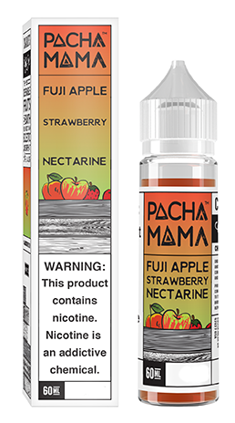 Pachamama Fuji Apple Strawberry Nectarine Shortfill
