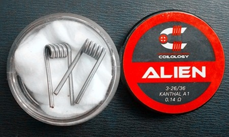 Coilology Alien Kanthal A1 Handcrafted