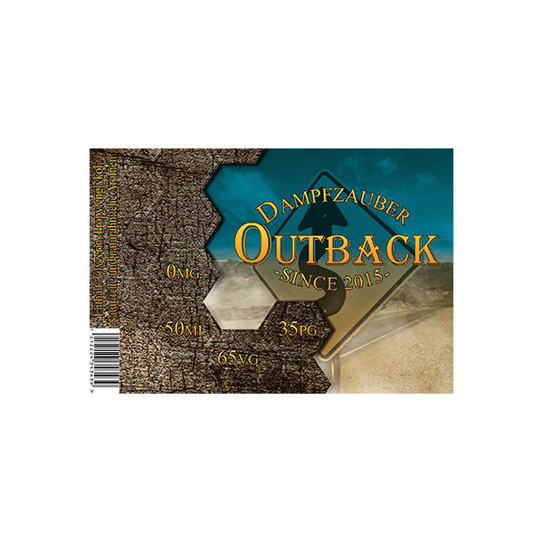 Dampfzauber Outback 50 ml